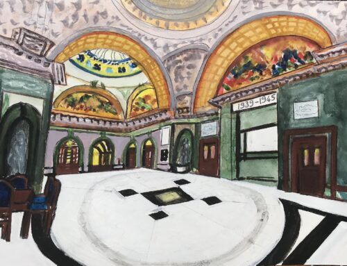 Old Bailey – A Watercolour Painting
