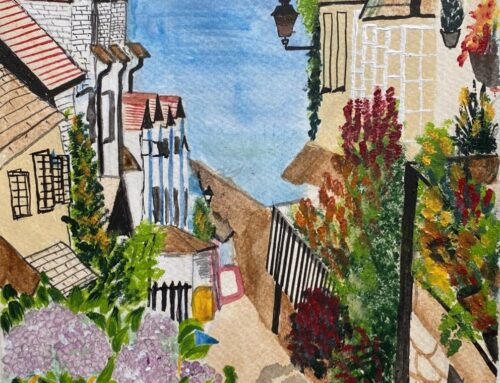 Su, Clovelly – A Watercolour Painting