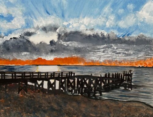 Southend Early Evening – A Watercolour Painting