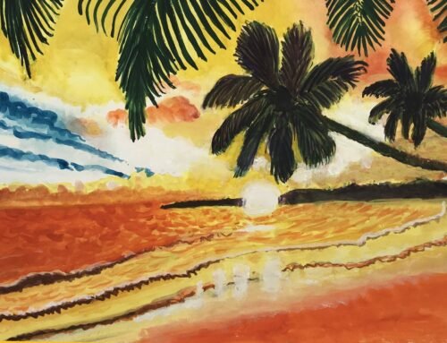 Sunny Days – A Watercolour Painting