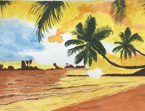 Frances, Sunshine! A Watercolour Painting